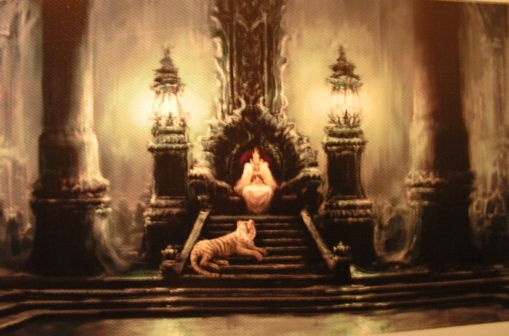 The White Witch's Castle Throne Room Concept Art - Narnia Fans