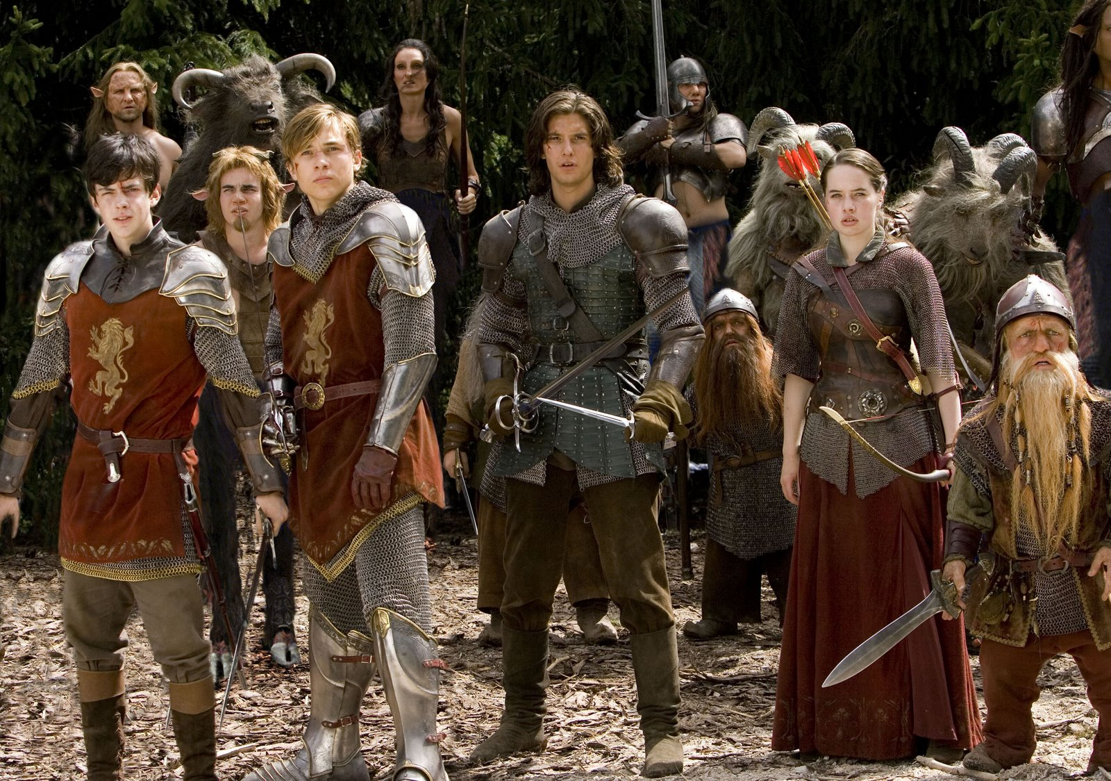 susan narnia fans new prince caspian promotional images
