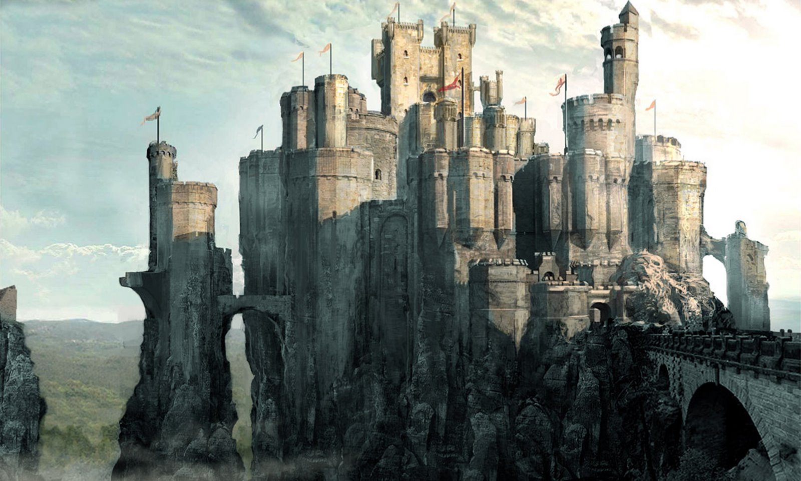 Prince Caspian Castle Prince Caspian Concept Art