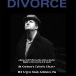 Tony Lawton to perform The Great Divorce in Pennsylvania in January