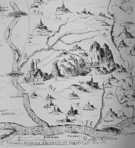 Map of Narnia Italy